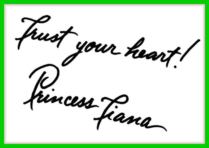 Princess Tiana best character autograph tips