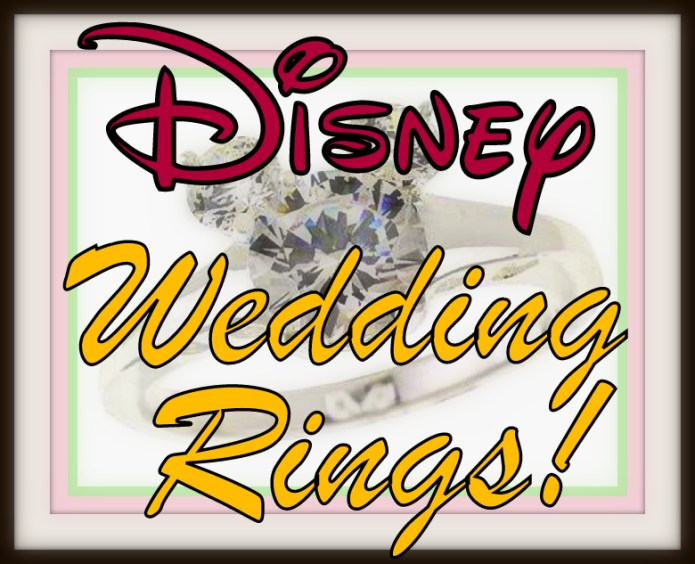 Disney World Weddings and Rings