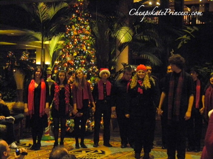 Disney's Polynesian Resort Christmas music