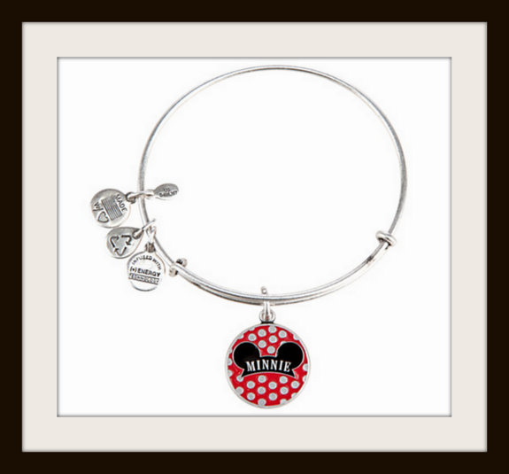 Alex and Ani Minnie Mouse bangle bracelet