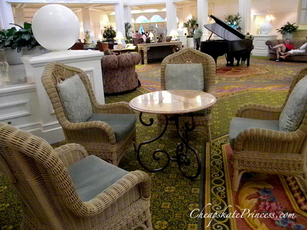 where to have a picnic at the Grand Floridian Resort and Spa