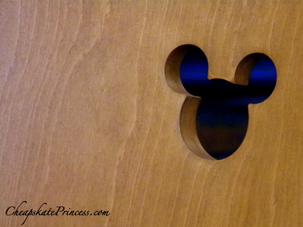 Hidden Mickeys at the Contemporary Resort