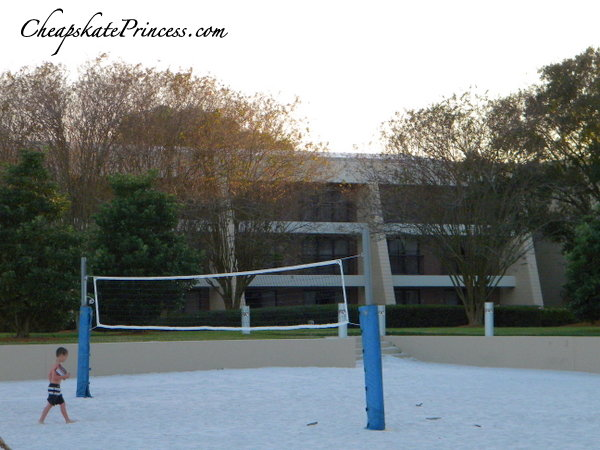 volleyball at the contemporary resort in Orlando
