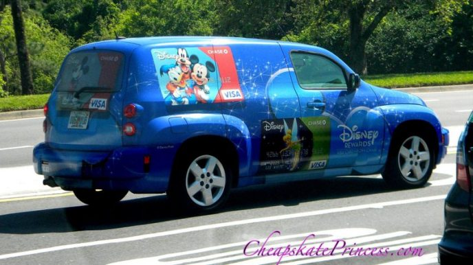 Disney Visa car