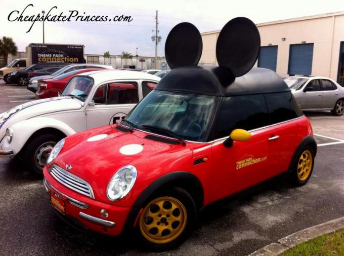 Minnie Mickey Mouse mini car