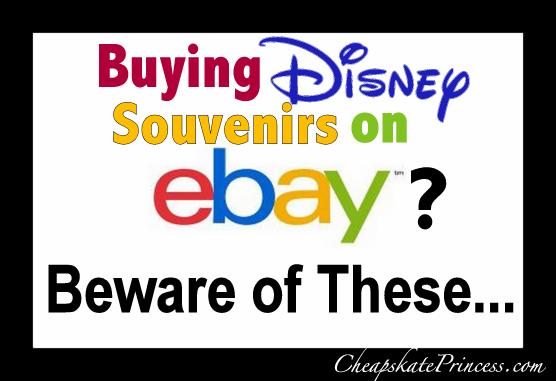 don't buy these disney items on ebay