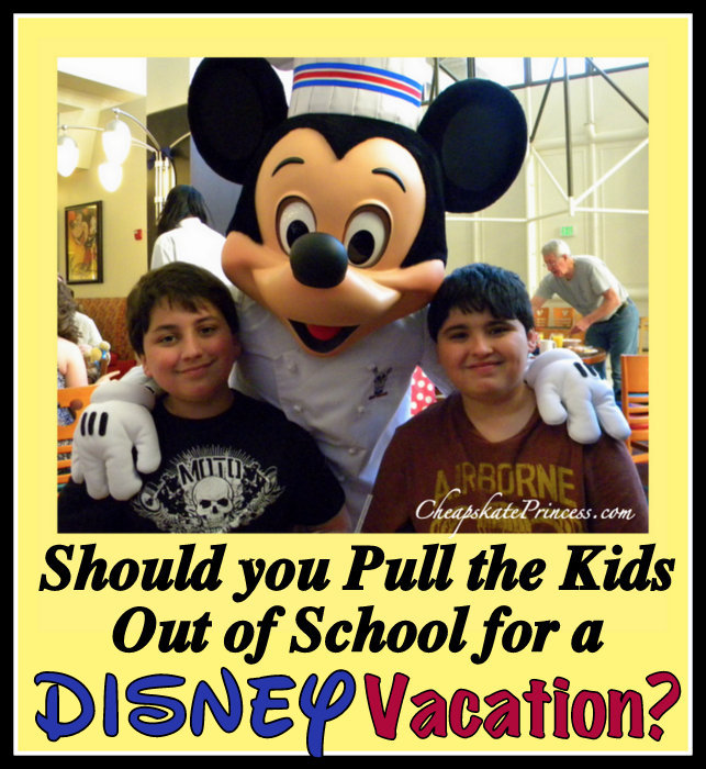 should you take kids out of school for vacation?