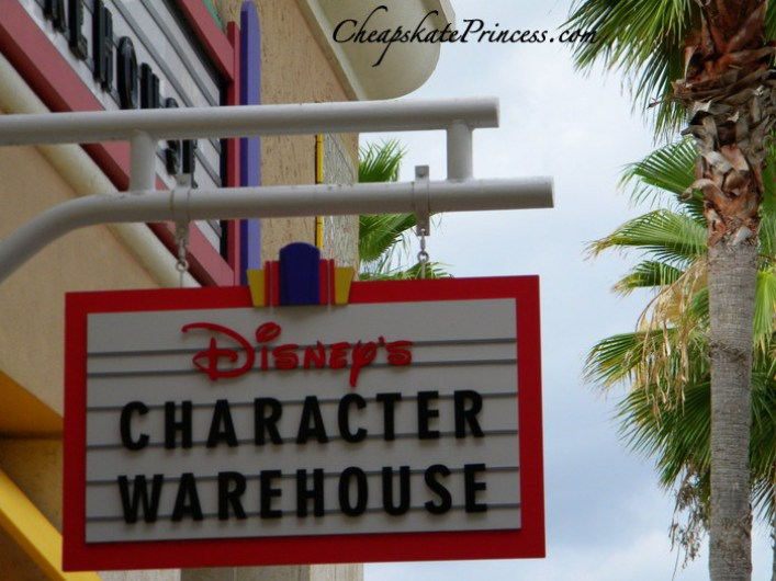 where to find Disney's Character warehouse in Orlando