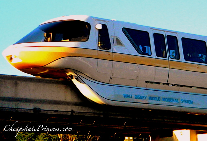 ride a Disney monorail for free