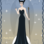 Love Disney Kid's Crafts? Check Out These FREE Maleficent Paper Dolls!