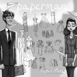 """Want a Fun Disney Craft? Check Out These FREE """"paperman"""" Paper Dolls!"""
