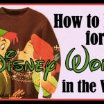 What Do You Wear to Disney World in the Winter?