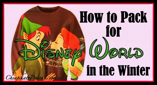 What to wear to Disney in the winter