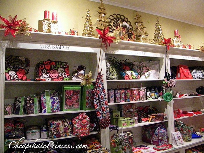 Vera Bradley store at Disney Celebration