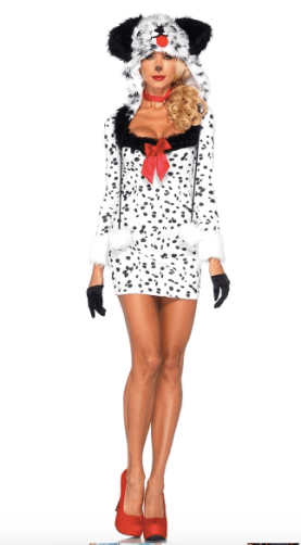 101 Dalmations Halloween sexy Disney costume