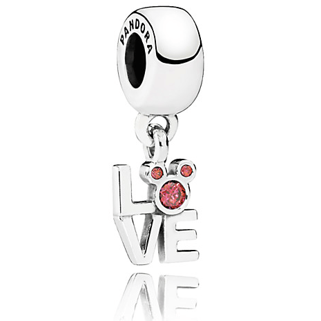 Mickey Mouse Love jewelry pandora charm