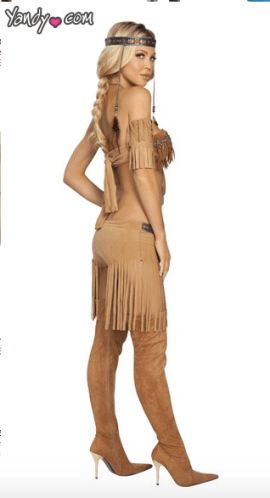 Pocahontas Disney Wprld costume for adult womens party