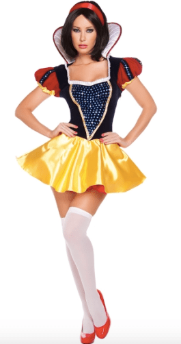 Sexy Snow White Costume for Disney Halloween party