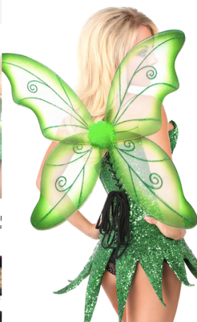 Tinker Bell not suitable for work Disney costume for adult Halloween party