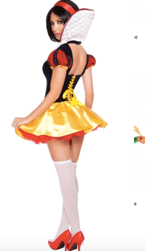 sexy Snow White costume for Disney World halloween party