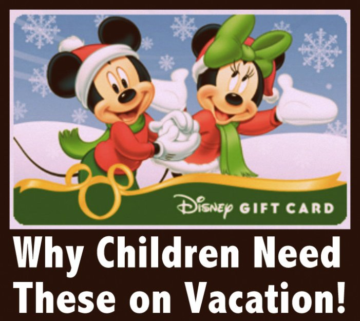 kids and Disney Gift Cards