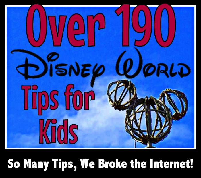 best tips for kids on a Disney World vacation