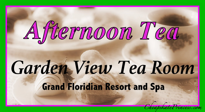 Afternoon Tea at Garden View Tea Room prices