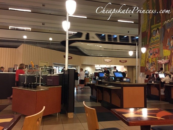cheap dining at Contemporary Resort