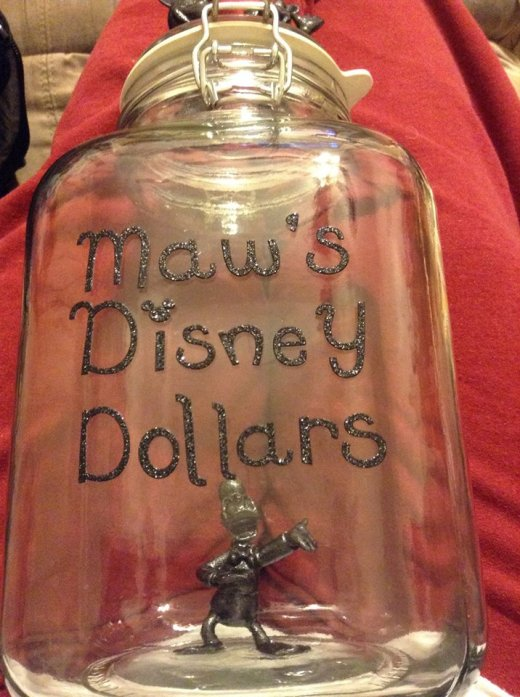 Disney change jar