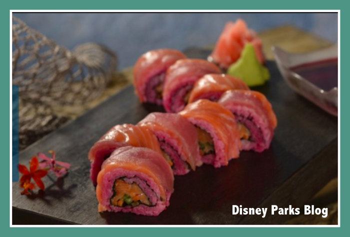 Headhunter Sushi Roll at Disney World Trader Sam's