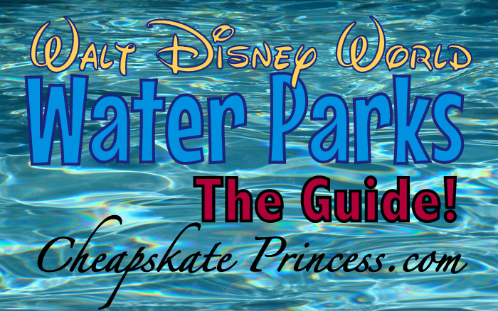 guide to Disney World water parks