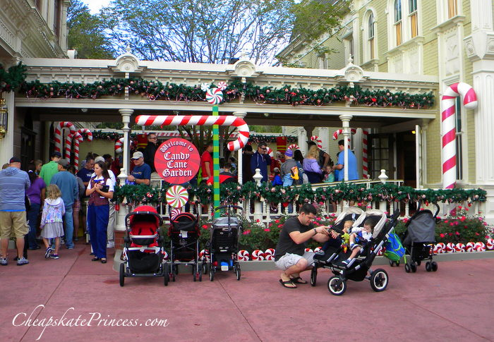 Disney Candy Christmas Cane Lane