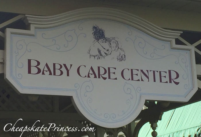 Disney World baby care center information