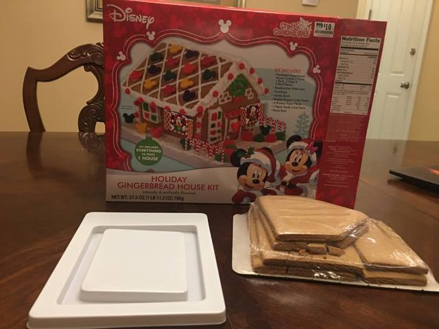 Disney World gingerbread kit