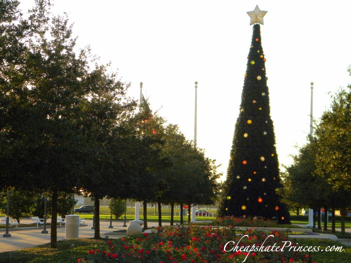 Christmas tree Disney Contemporary Resort