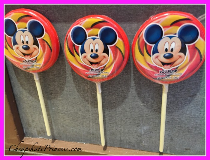 Disney World Mickey sucker lollypop magnet