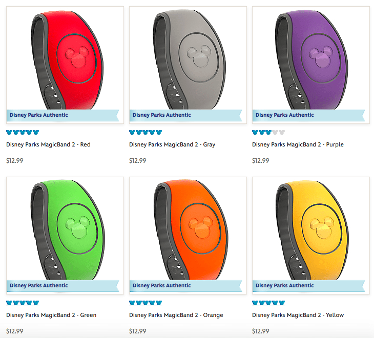 MagicBand 2 at Disney World