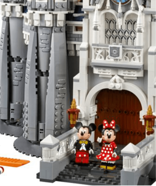 Mickey Minnie Mouse Lego Disney Castle