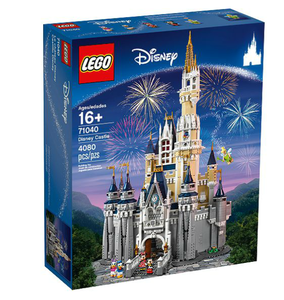 where to buy the Lego Disney World Castle