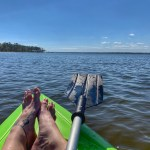 The Beach Princess: Kayaking at Blue Angel Recreational Center