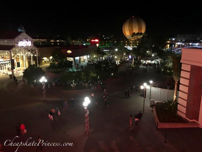View from the roof at night...