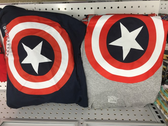 Marvel t-shirts at Five Below stores