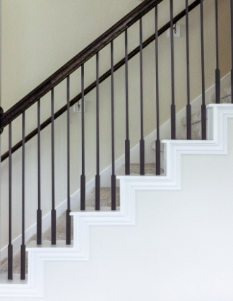 Wrought Iron Balusters For Stairs Cheap Stair Parts   New Banister For Stairs   Stainless Steel   Traditional   Oak   Contemporary   Indoor