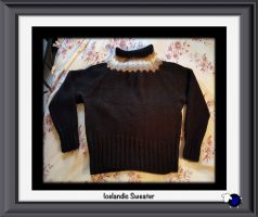 Knitted Icelandic Sweater