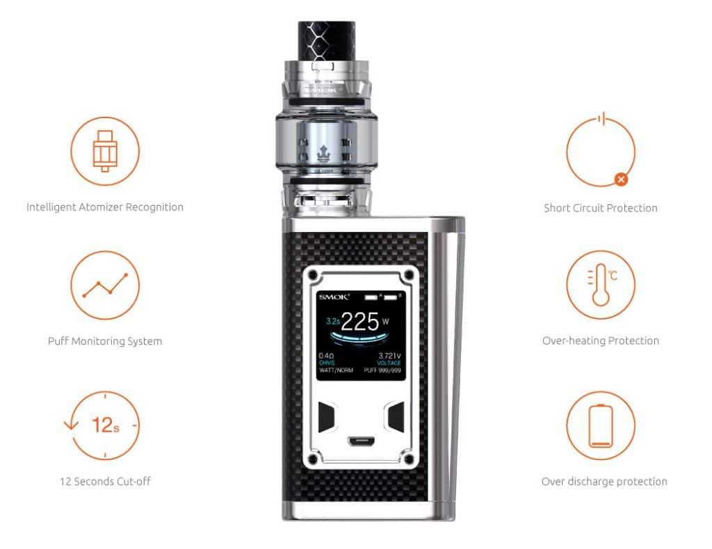 Us Store Smok Majesty Luxe Edition 225w Kit 59 99