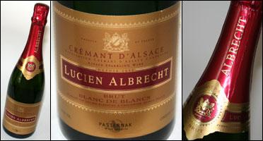 Lucien Albrecht Cremant D Alsace Brut Blanc de Blancs