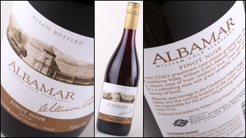 William Cole Albamar Pinot Noir