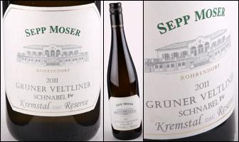 Sepp Moser Schnabel Gruner Veltliner