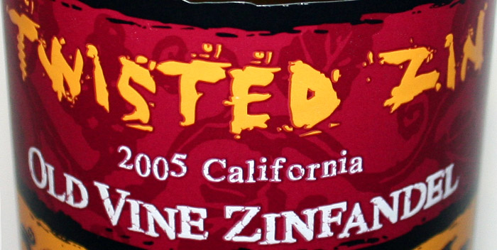 Twisted Zin - Old Vine Zinfandel