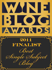 Wine Blog Awards Finalist